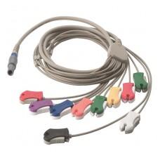 CABLE DE PACIENTE 10 PUNTAS TIPO CLIP PARA ECG EN STRESS (SE-PRO-600)