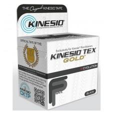 CINTA P/ CORRECCION MUSCULAR KINESIO GOLD 5.08 CM X 5 METROS NEGRO NANO-TOUCH