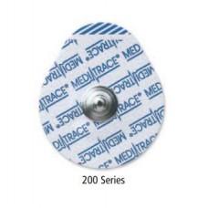 ELECTRODO ADULTO MEDI-TRACE SERIE 200 ECG DESECHABLE BOLSA C/100 ELECTRODOS