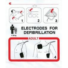 ELECTRODO ADULTO PARA DESFIBRILACION DG5000, DG4000, FRED EASY
