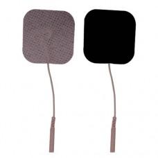 ELECTRODO TENS SPUNLACE PIEL CUADRADO 5 X 5 CM (2 X 2 PULG) C/4