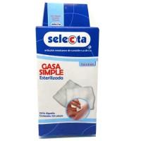 GASA ESTERIL C/100 PZA. 7.5 X 5 CM