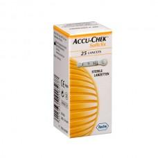 LANCETAS SOFTCLIX P/ACCU-CHECK P/25
