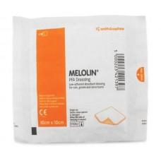 MELOLIN 10 X 10 CM GASA DE ALGODON/POLIESTER ULTRA ABSORBENTE NO ADHERENTE