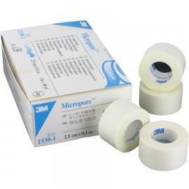 MICROPORE BLANCO 2.5CM (1IN) X 9.14M CAJA C/12 ROLLOS