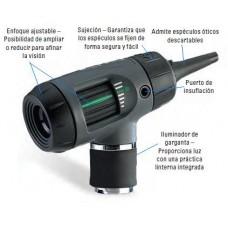 OTOSCOPIO HALOGENO DE 3.5V MACROVIEW C/ILUMINADOR GARGANTA