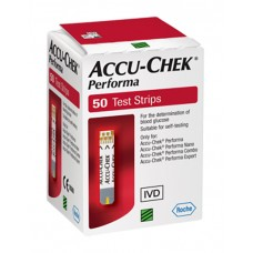TIRAS REACTIVAS ACCU-CHECK PERFORMA C/50